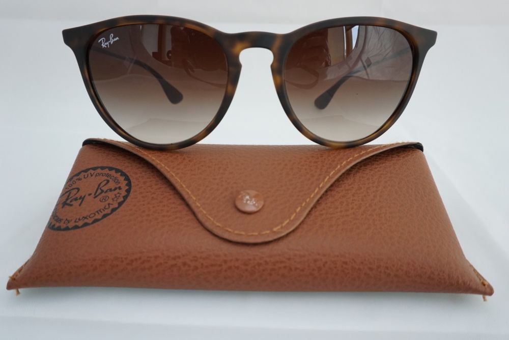 0fe478fa8751 RAYBAN ERIKA RB4171 865 13 Tortoise Gunmetal Brown Gradient Lens  fashion   clothing  shoes  accessories  womensaccessories   sunglassessunglassesaccessories ...