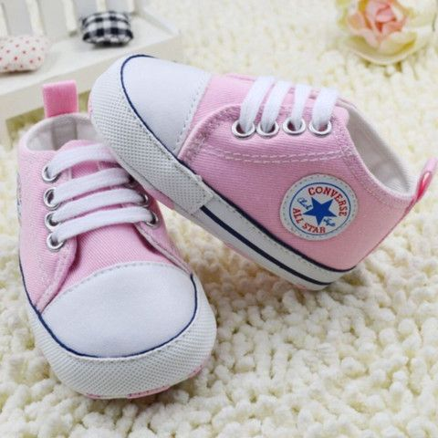 eb65afb274b Converse Light Pink Prewalker Shoes available in size 1-3 (0-18m) Available  to purchase at www.littleeedie.com  newborn  toddler  shoes  converse
