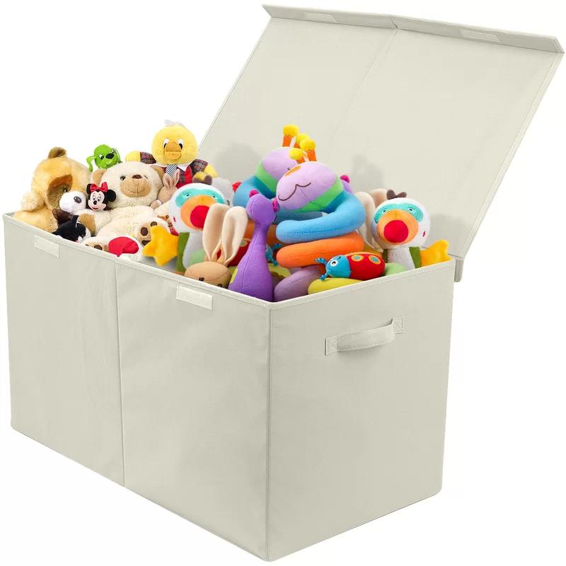 Calaway Fabric Cube Or Bin Toy Storage Organization Toy Storage Boxes Toy Storage