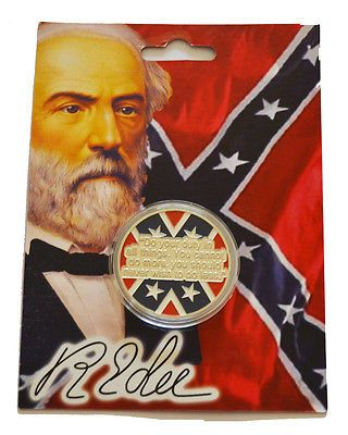 American civil war #coloured #general robert e. lee #collectors coin new in walle,  View more on the LINK: http://www.zeppy.io/product/gb/2/371788570933/