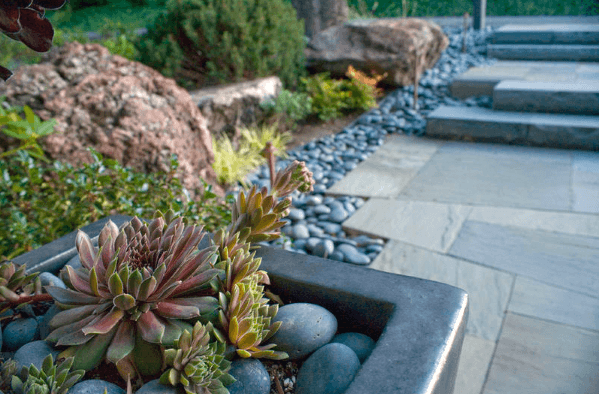 Top 50 Best River Rock Landscaping Ideas - Hardscape Designs #riverrocklandscaping