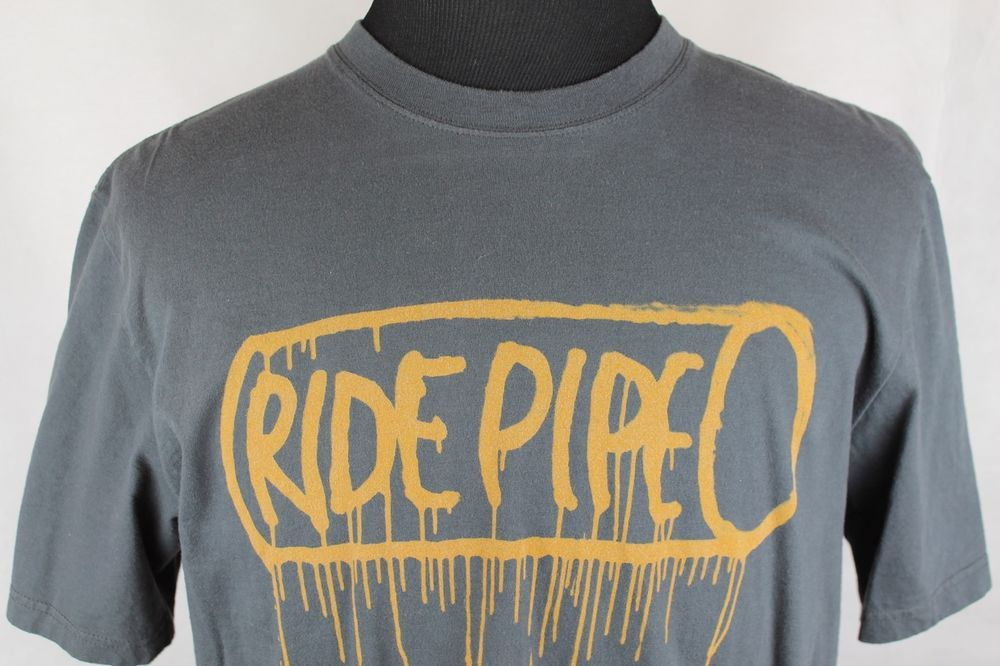 "1c60461aa NIKE 6.0 ""Ride Pipe"" Mens Short Sleeve Skater T-Shirt sz XLarge Gray #Nike # GraphicTee"