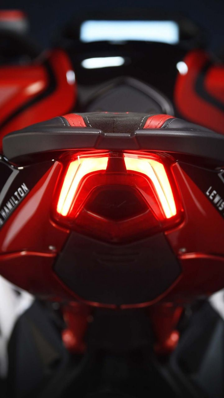 mv agusta brutale 800 rr lh44, tail lights, bike, 720x1280 wallpaper
