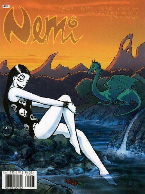 Nemi comic book nr 58