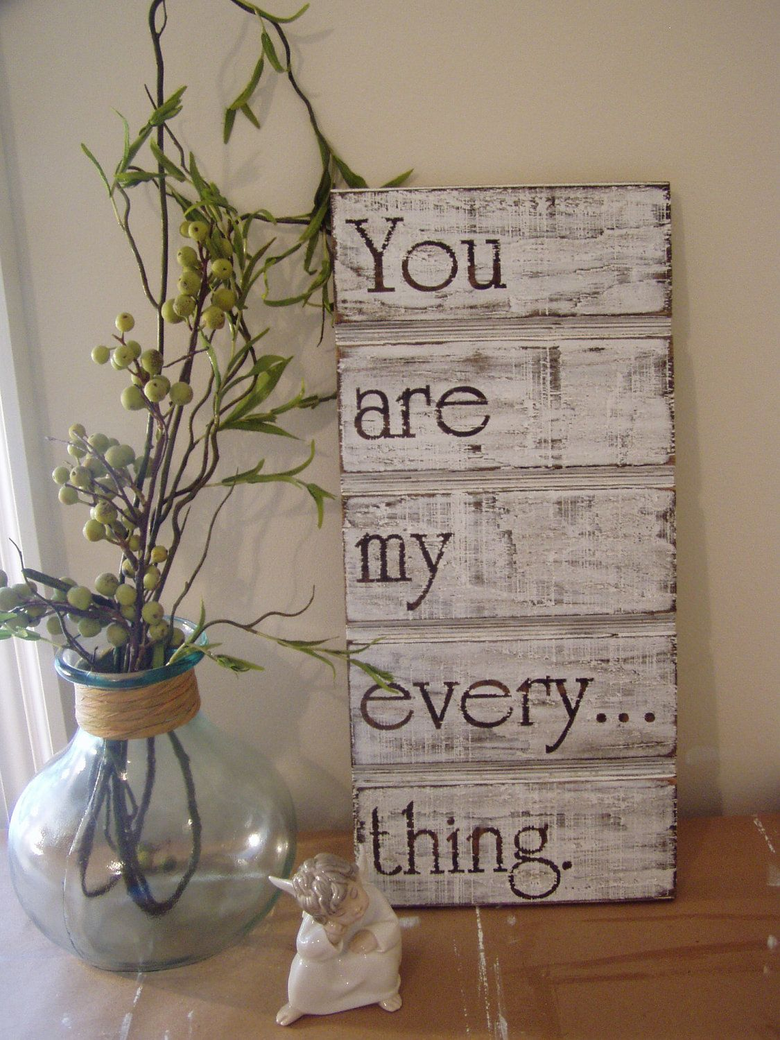 Wood Sign Design Ideas sign design ideas image 11 of 17 from gallery of easy diy wood pallet projects to boost your creativity You Are My Everything Wood Sign 3000 Via Etsy Wood Sign Design Ideas