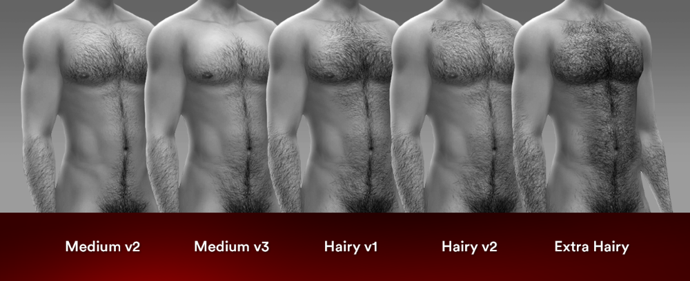 Body Hair V5 Body Hair Is Back And Even More Luumia Sims Sims 4 Body Hair Sims 4 Tattoos The Sims 4 Skin