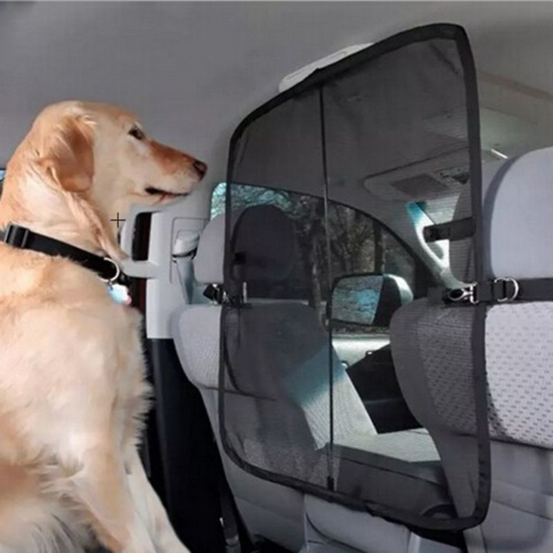 62338 Pet Barrier Car Dog Guard Blocks Dogs Access To Car Front ...