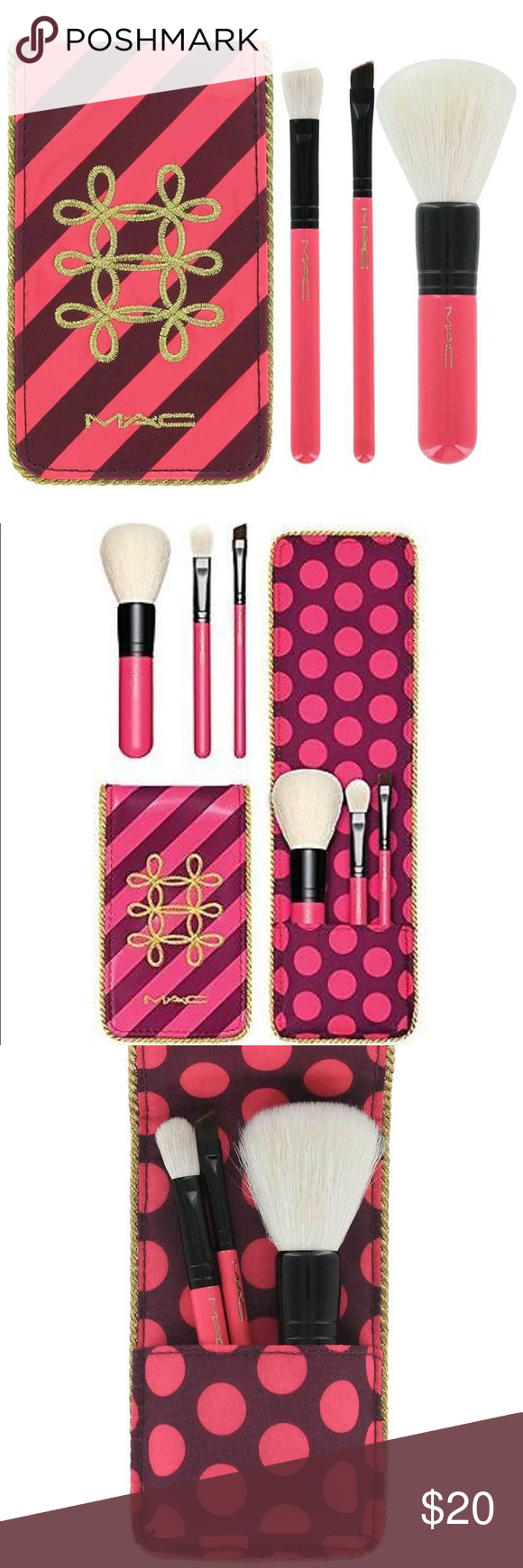Limited Edition Mac Essential Brush Set Travel NWT