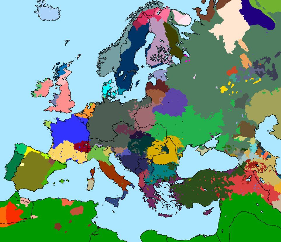 Language Map Of Europe 1914 Version 3 0 By Thumboy21 Deviantart Com