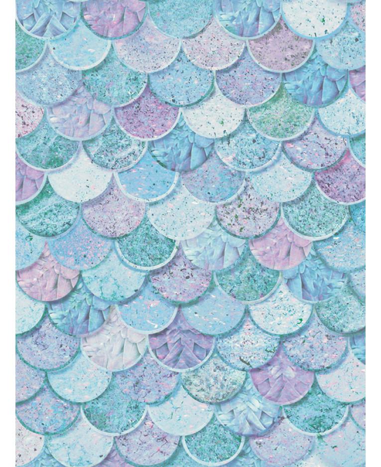 Mermazing Mermaid Scales Glitter Wallpaper - Ice B