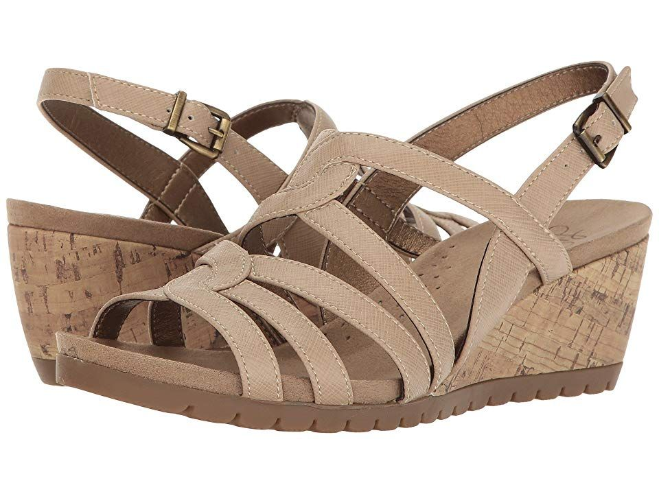 LifeStride Novak (Taupe) Women's Sandals. Look great at