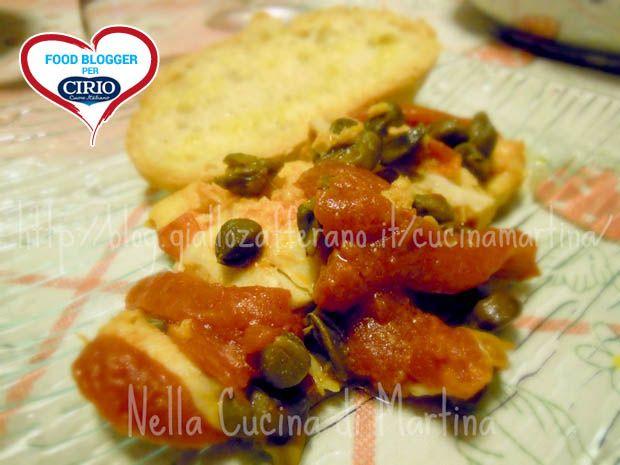 Ricetta filetti di pesce al pomodoro e capperi del blog 39 nella cucina di martina 39 http blog - La cucina di martina ...