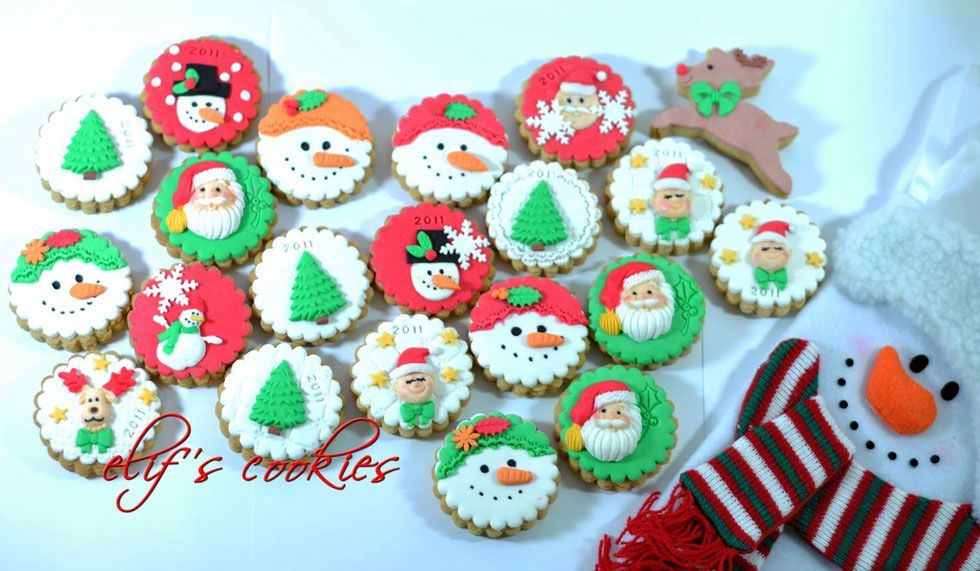 Easy Christmas Biscuit Decorations Google Search Easy