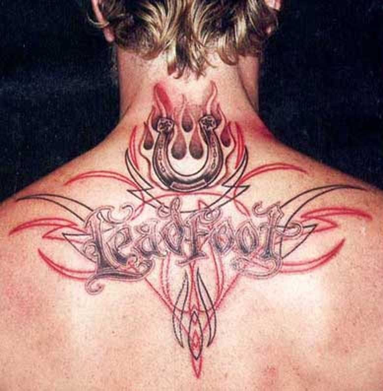 Hetfield S Awesome Obviously Gear Head Tattoo Leadfoot James