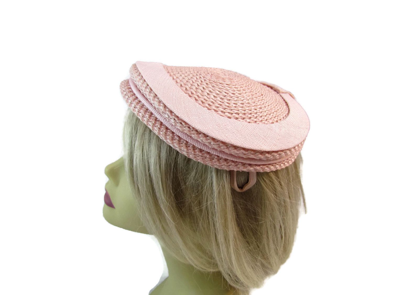 Pink Pillbox Hat Vintage Fascinator Hat Womens Hats Fascinators Hats Pillbox Hats Kentucky Derby Hat 1960s Mod Mad Men Jane Morgan Hats by WhyWeLoveThePast on Etsy