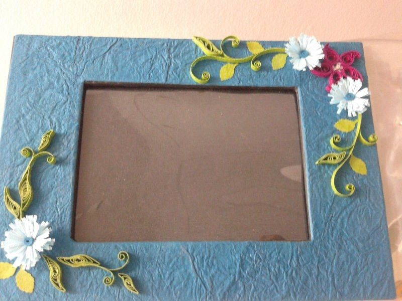 Generous How To Make Handmade Photo Frames With Handmade Paper ...