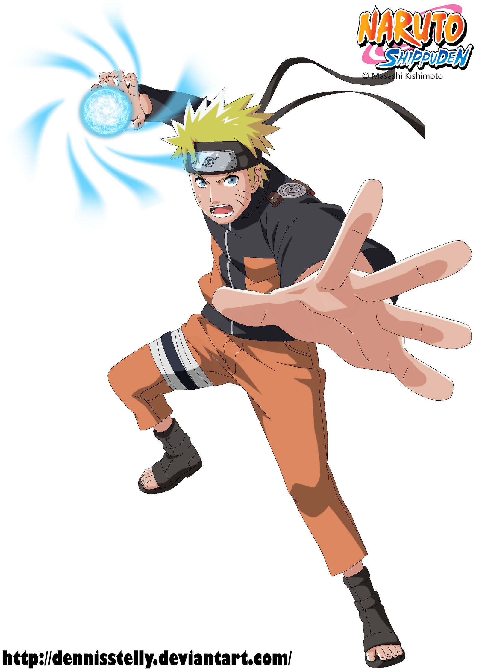 Naruto Rasengan By Dennisstelly On Deviantart Naruto Uzumaki Naruto Naruto Uzumaki Shippuden