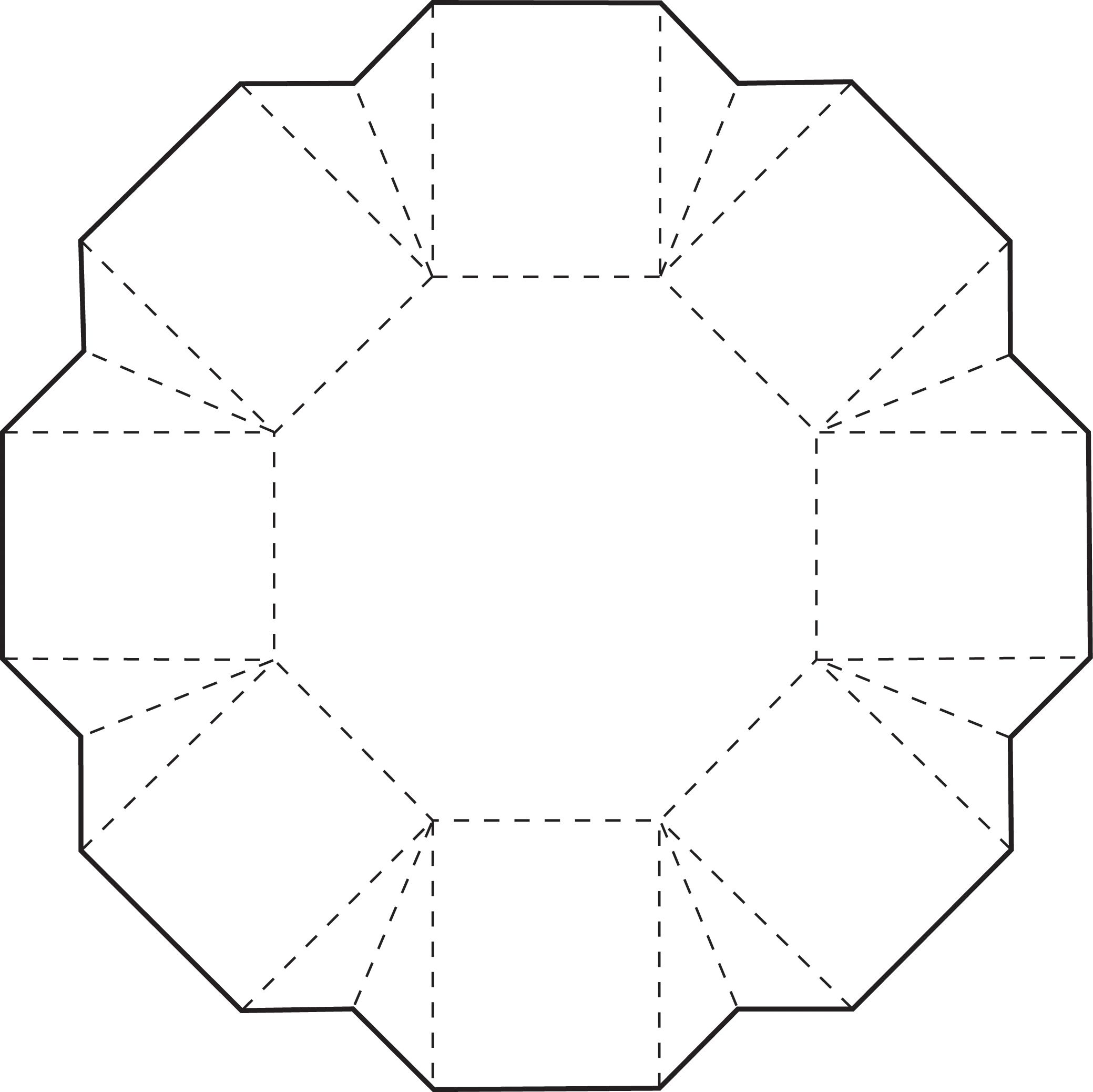 Octagon Box | Gratis schnittmuster, Verschiedenes und Schnittmuster