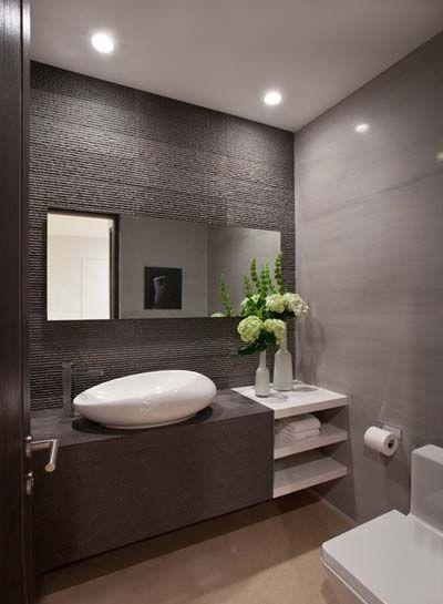Delightful 15 Hermosos Cuartos De Baño Modernos ¡Inspírate! | Mil Ideas De Decoración