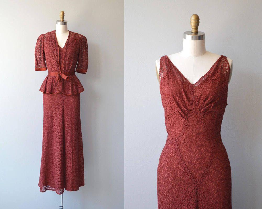 Clermont Club Kleid Und Jacke Jahrgang 1930 Kleid 30er