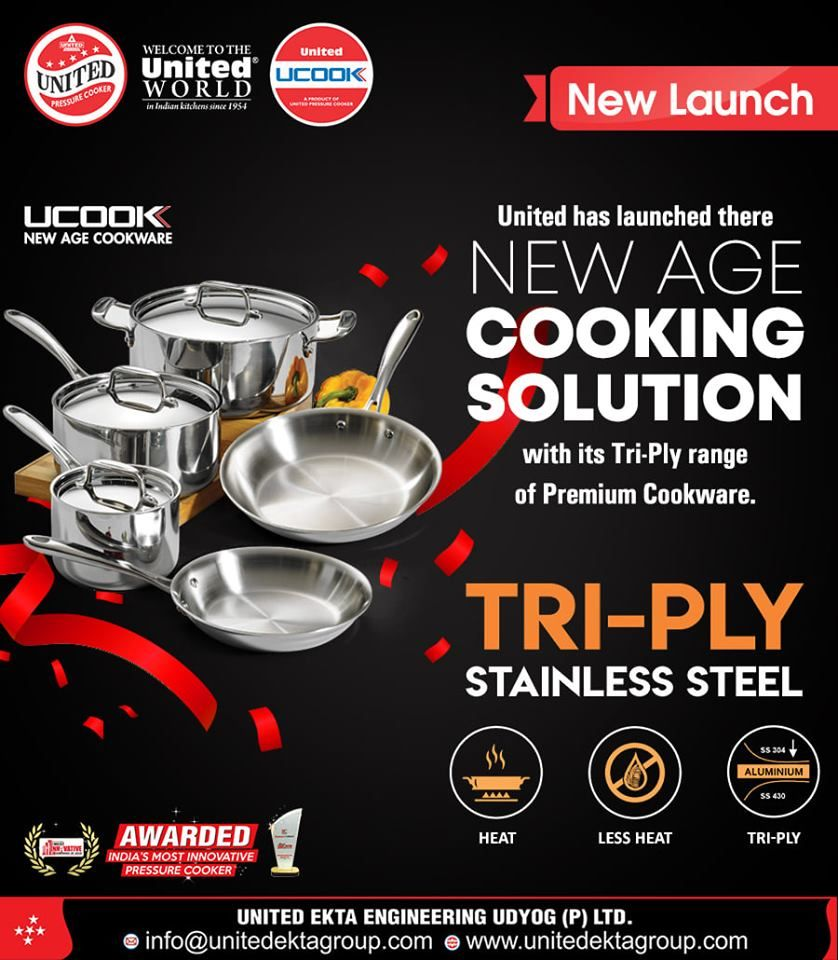 United has launched there NEW AGE COOKING SOLUTION with