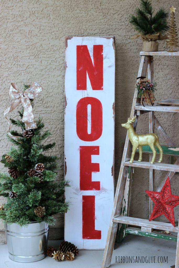 Christmas decor Noel Sign Noel Easy