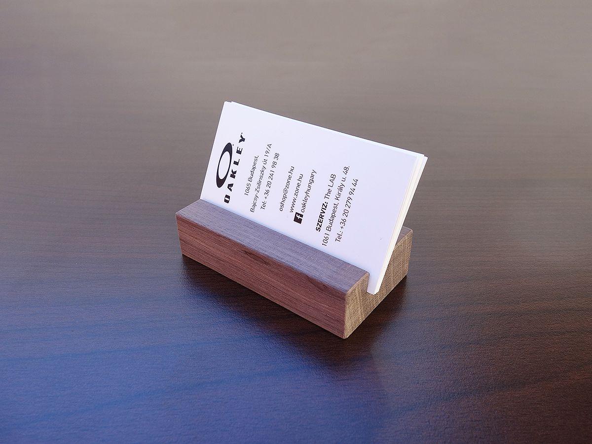 Wood business card holders from walnut wood business card holders wood business card holders from walnut colourmoves