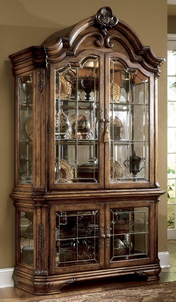 dining room curio cabinets | Tuscano Curio Cabinet | AICO | Home Gallery Stores | Curio ...