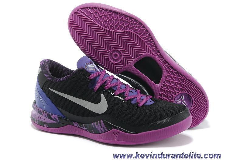 226cd06d272e Nike Kobe 8 PP Black Electric Purple Grey Online