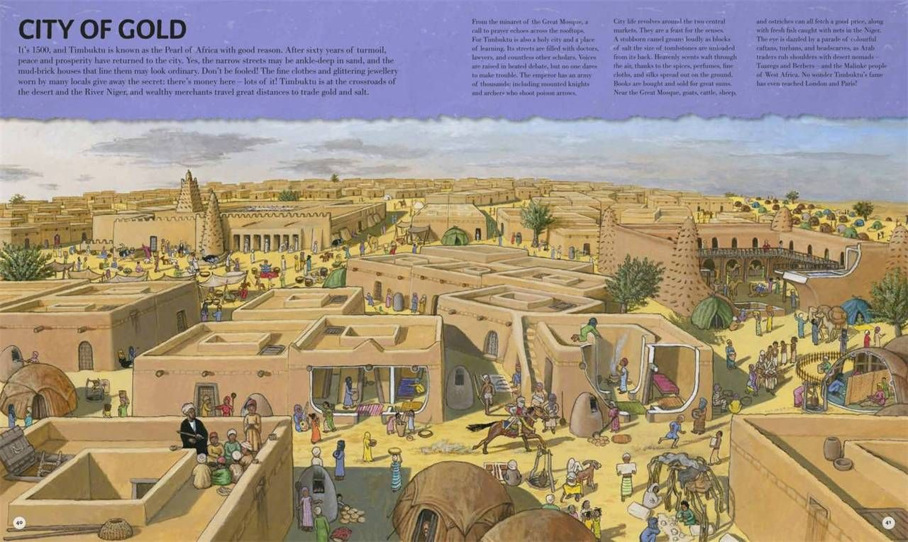 Timbuktu - City of Gold | Libraries Preservation | Pinterest | City ...