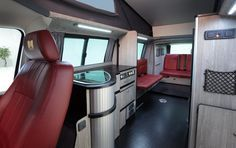 Revolutionalry VW T5 Campervan Conversion From Danbury Motorcaravans Coming To The South Gloucestershire