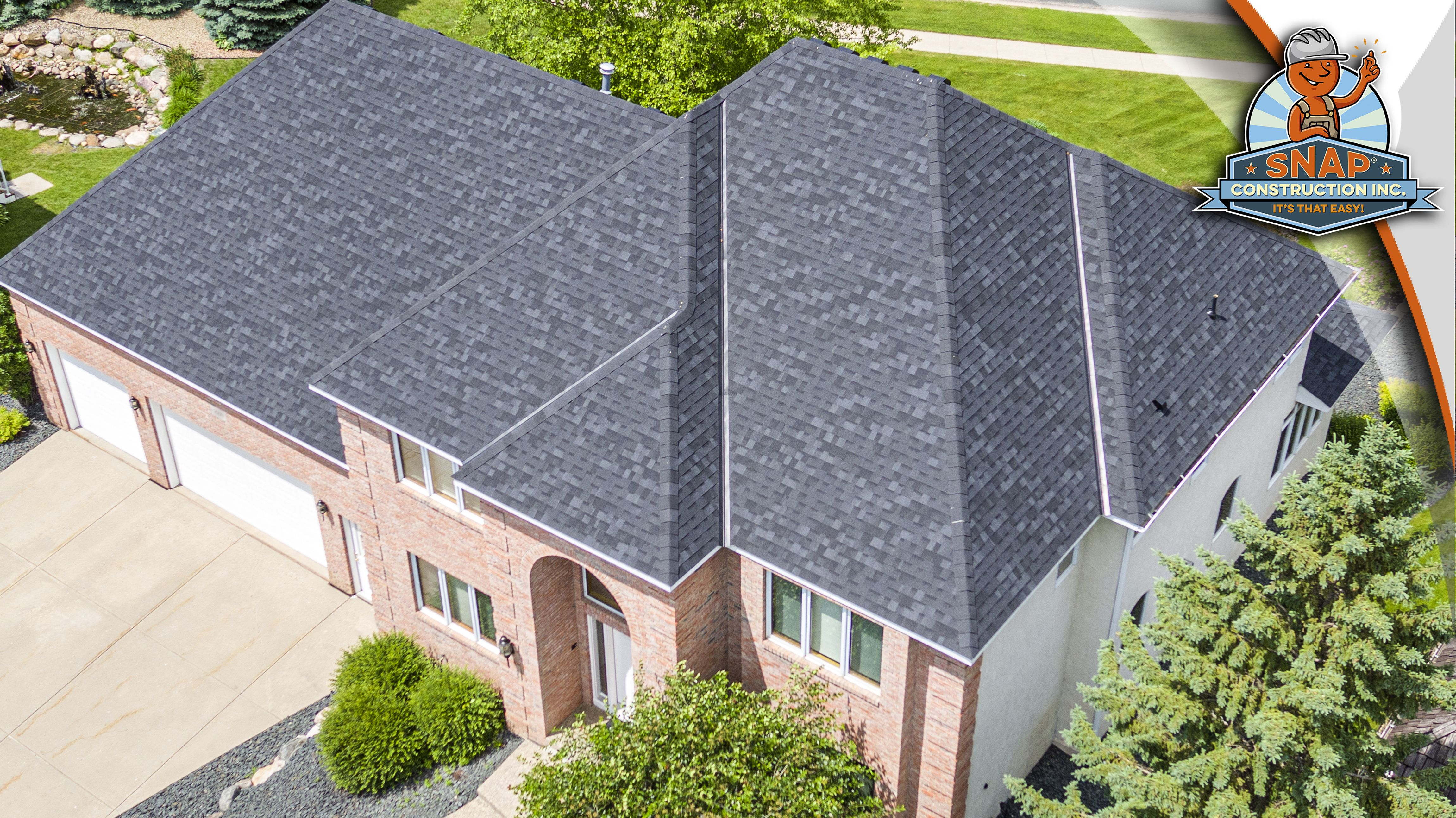 Best Owens Corning Trudefinition Duration Shingles In Onyx Black It S That Easy Shingling 400 x 300