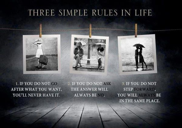 Follow The Rules The Rules Of Embracing Change Good Thoughts
