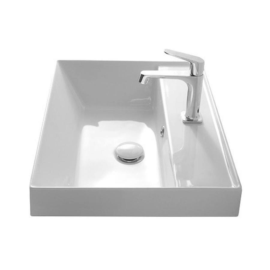Nameeks Teorema White Ceramic Drop In Square Bathroom Sink With Overflow Drain 17 7 In X 17 7 In Lowes Com Square Bathroom Sink Drop In Bathroom Sinks Bathroom Sink [ 900 x 900 Pixel ]