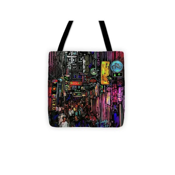 Coffee Shop Amsterdam Tote Bag For Sale By Dc Langer 13