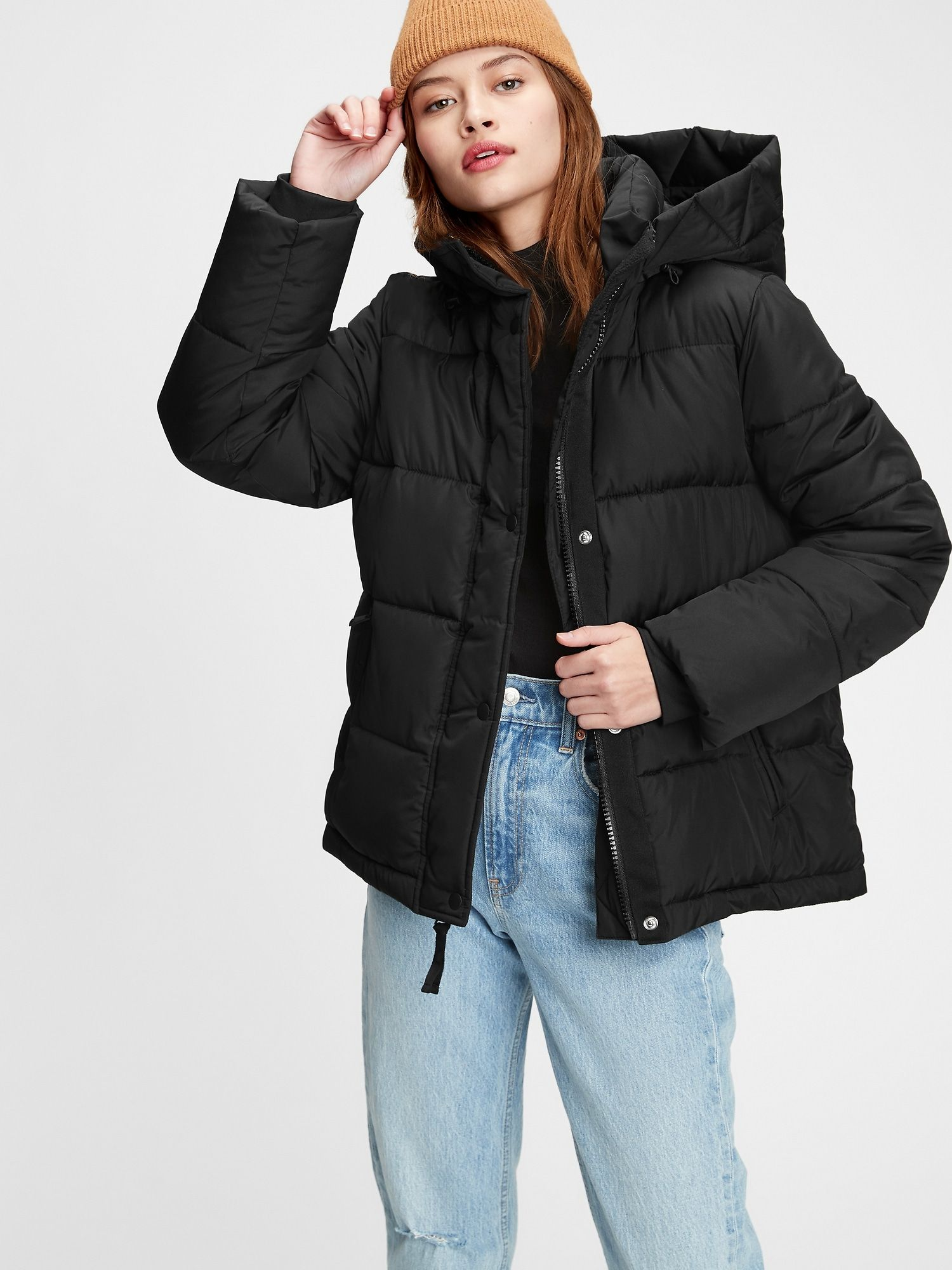 Upcycled Midweight Puffer Jacket Gap Jackets Puffer Jackets Clothes [ 2000 x 1500 Pixel ]