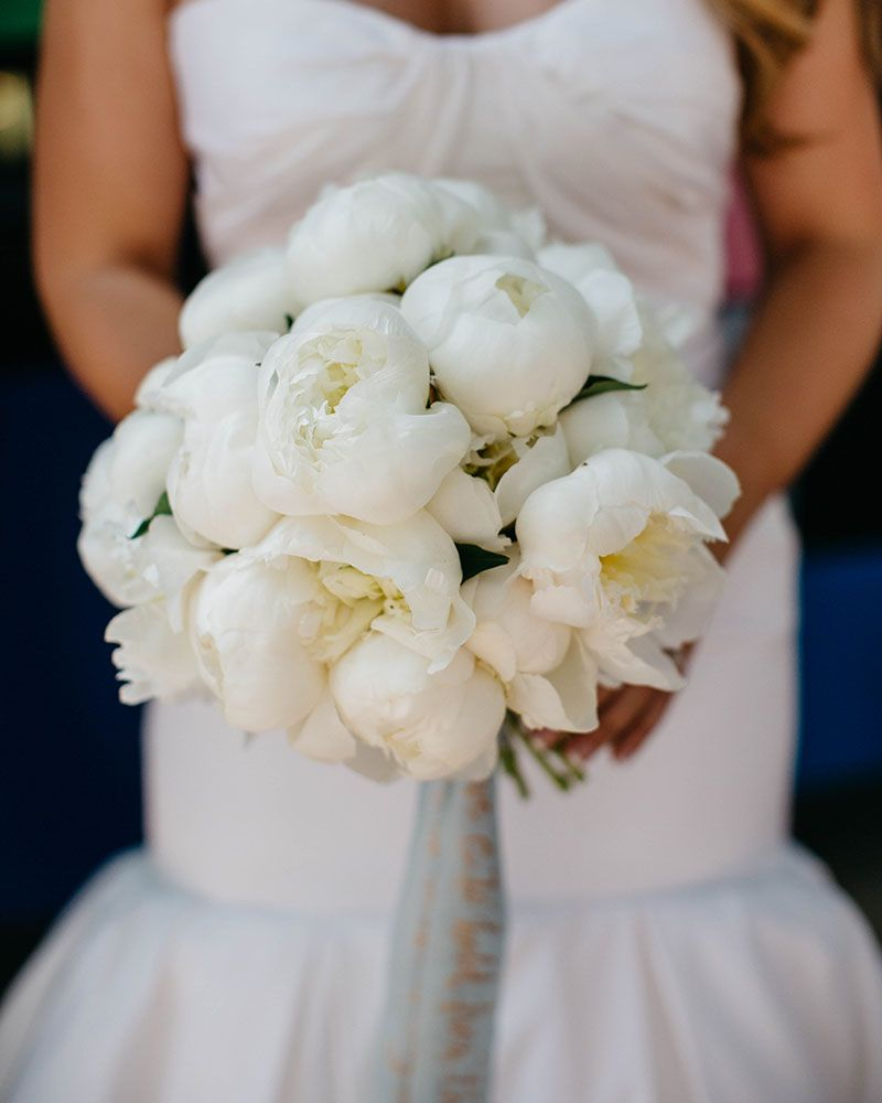 White peony bouquet portfolio bouquets pinterest wedding