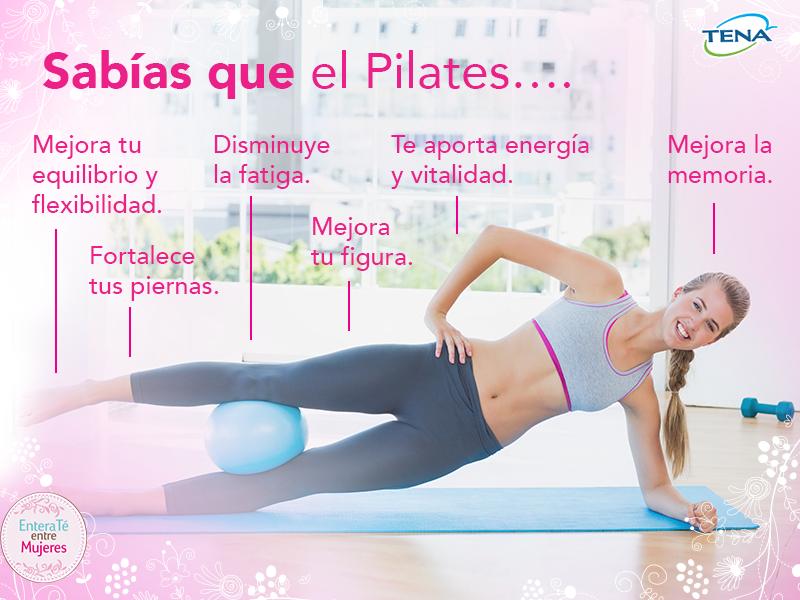 El Pilates Le Brinda Grandes Beneficios A Tu Cuerpo Conócelos Pilates Actividades Físicas Ejercicios