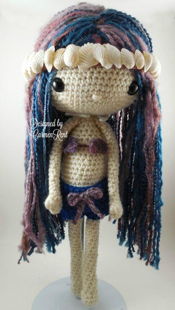 Sabrina - Amigurumi Doll Crochet Pattern | Muñecas, Muñecos de ...