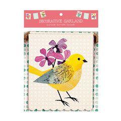 Avian Friends Garland | Paper Products Online