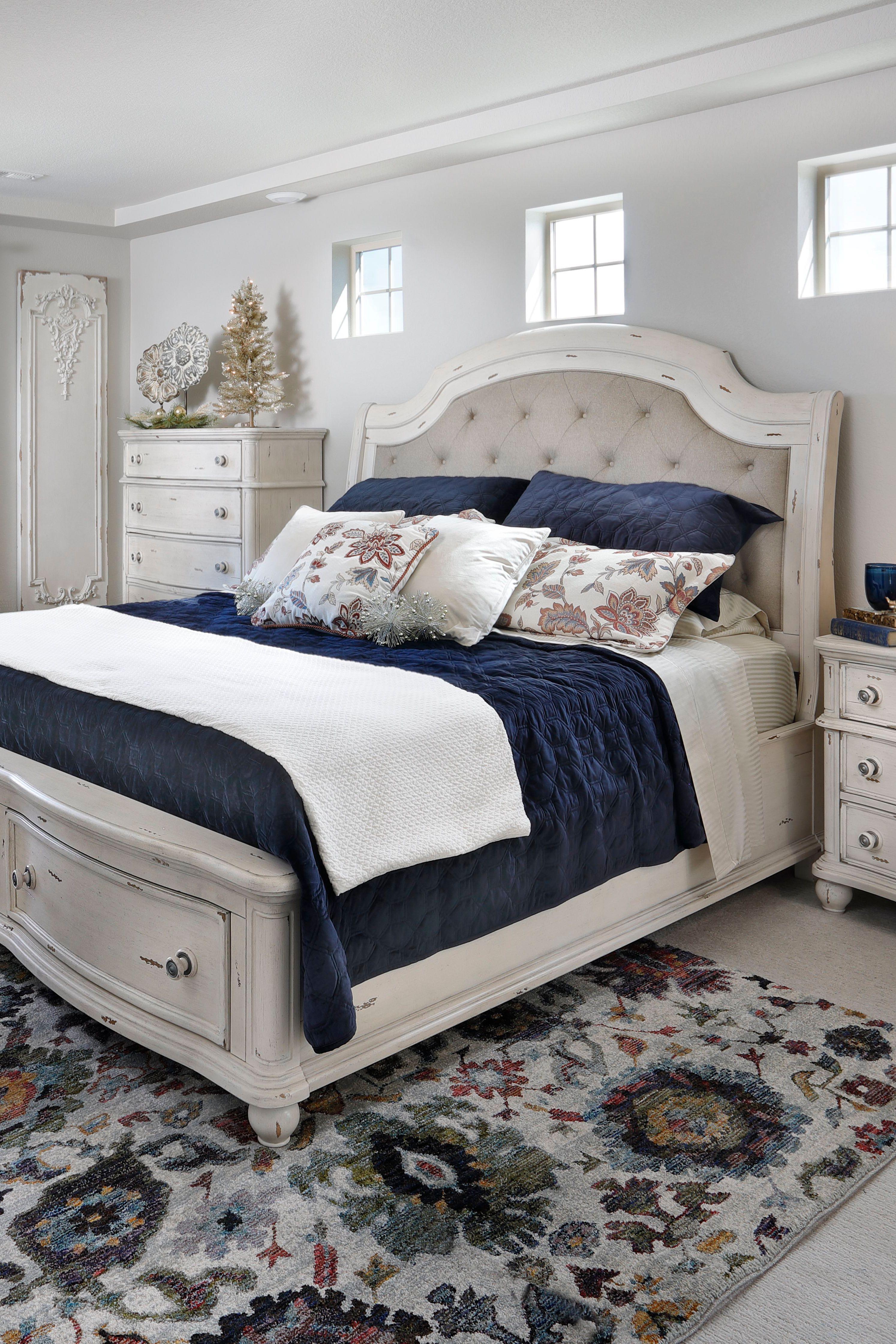 Marseilles Upholstered Storage Bed | Upholstered storage