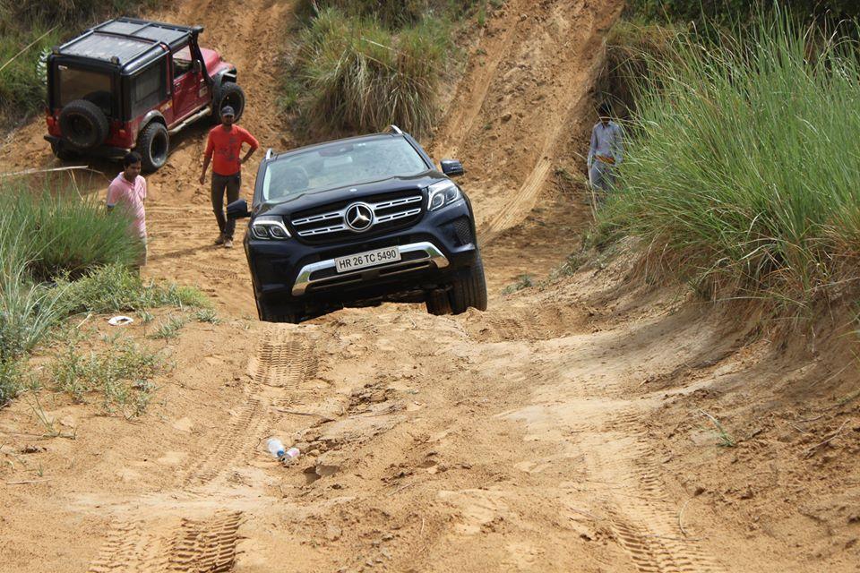 Testing the Mercedes-Benz GLS offroad