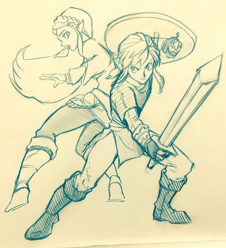 Tloz Botw Link Zelda Legend Of Zelda Breath Zelda Art Legend Of Zelda