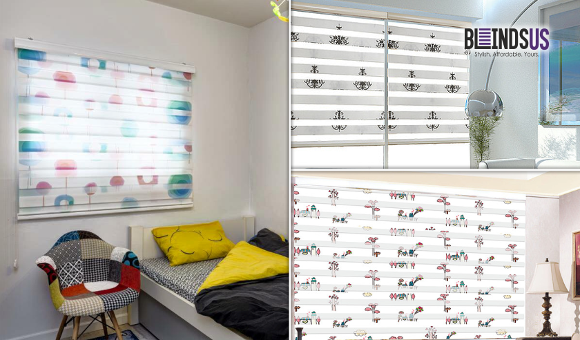 Our Whimsical And Colorful New Zebra Blinds Will Brighten Up Your #childrenu0027s  Rooms. See