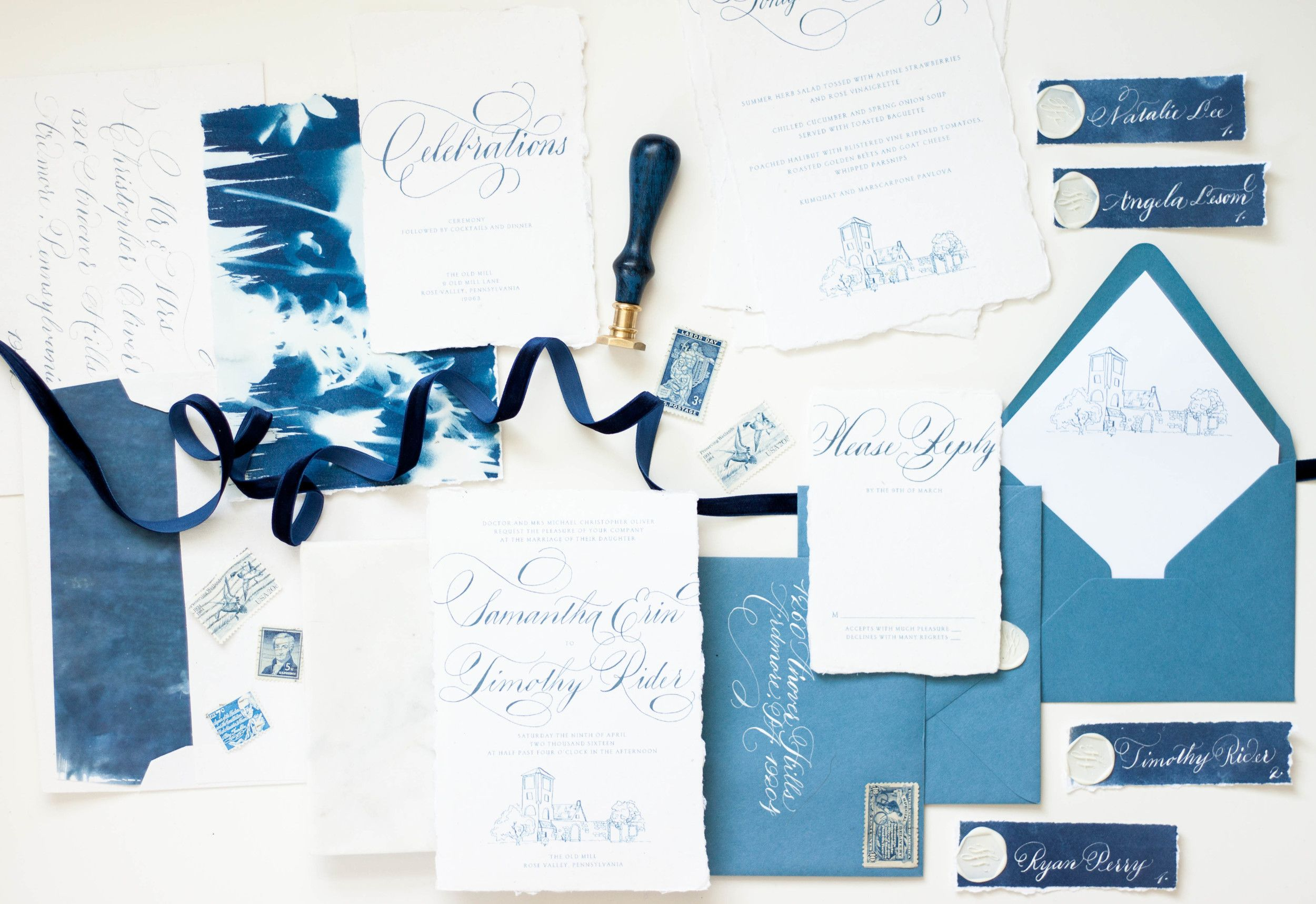 Design House Of Moira | Cotton Rag Paper | Bespoke Invitations