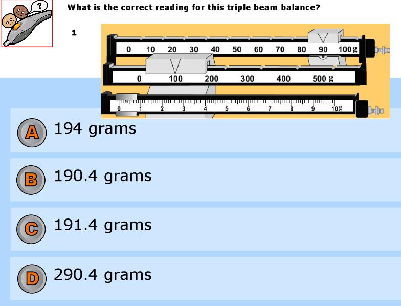 Triple Beam Balance Worksheet | Homeschooldressage.com