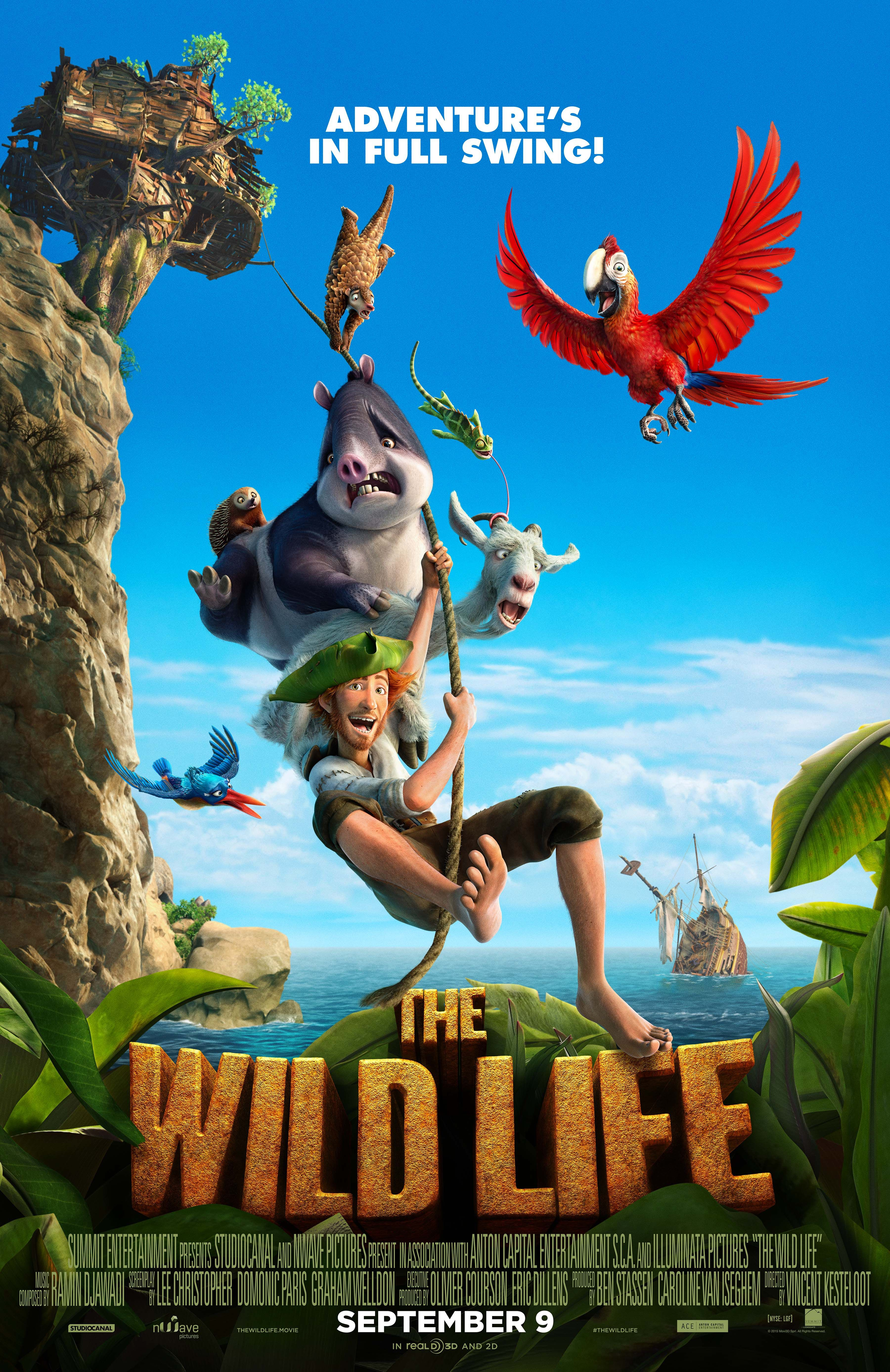 Get Ready For The Wild Life This Family Friendly Film Hits Theaters On September 9th And We Ve Got All Robinson Crusoe Free Movies Online Robinson Crusoe 2016