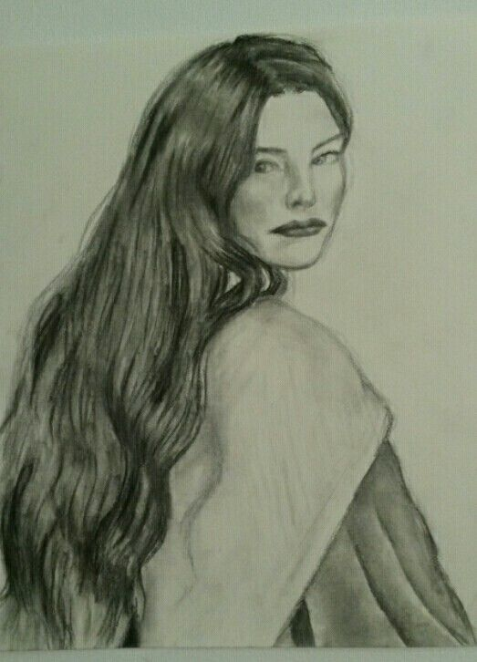 Arwen from Lord of the Rings -by Emily Dunlap