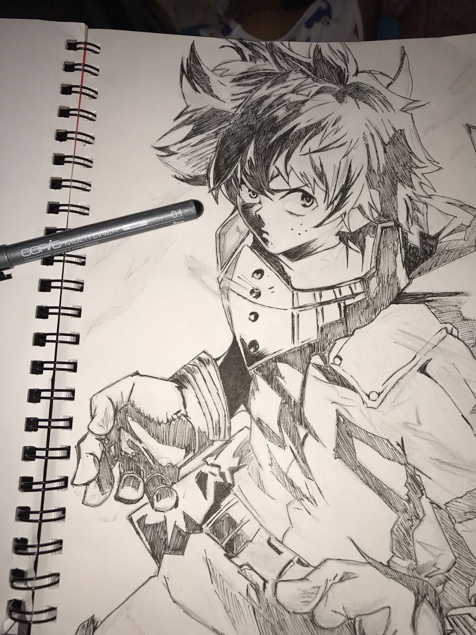 Image Result For Midoriya Punch Fist Drawings Anime Male Sketch