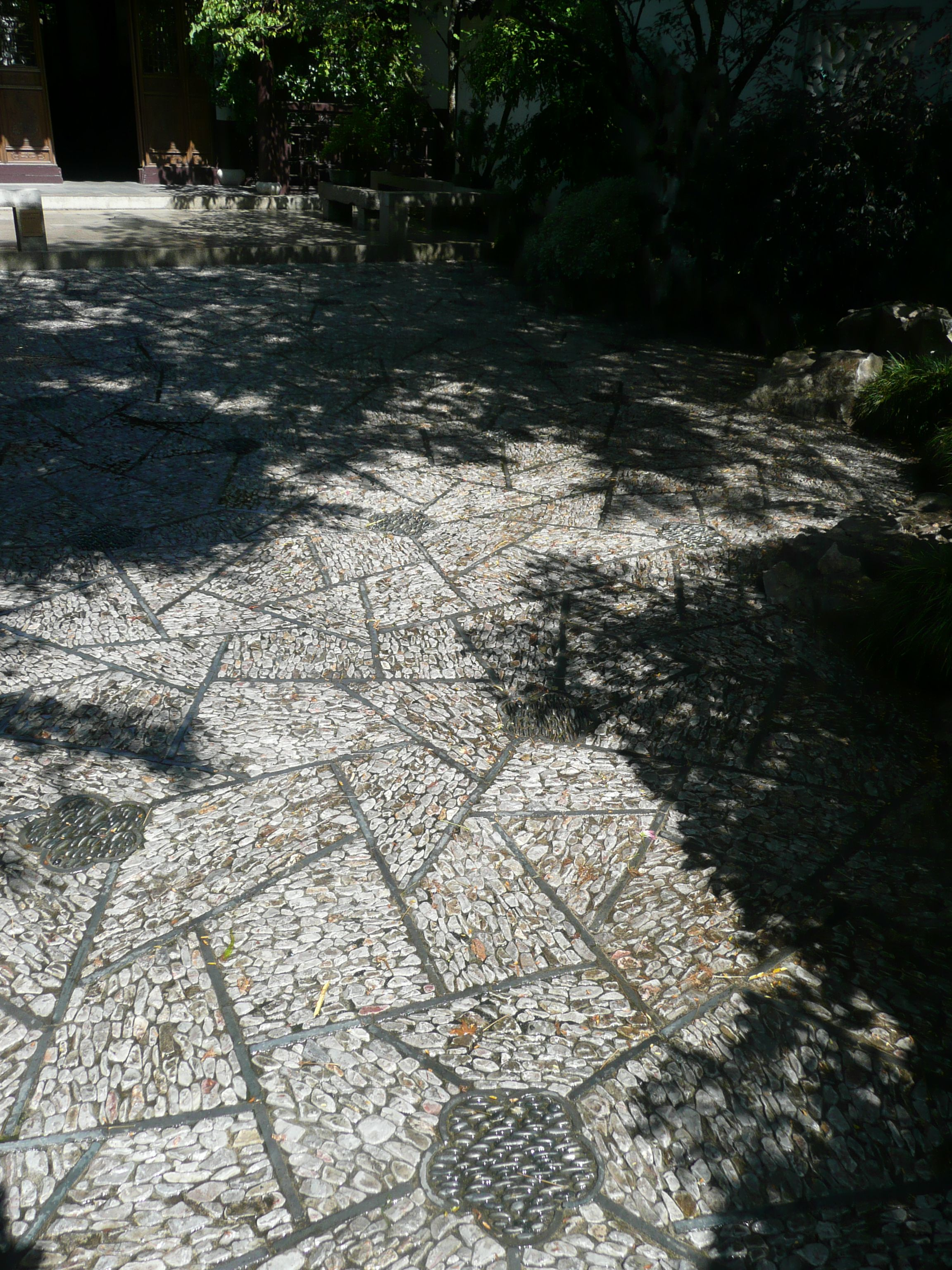 Stone Paths At Portland Chinese Garden